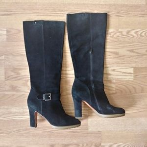 Shoes - Suede Knee High Boots